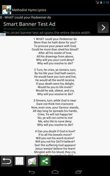 Methodist Hymn Lyrics screenshot 2