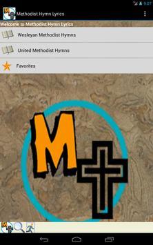 Methodist Hymn Lyrics apk screenshot