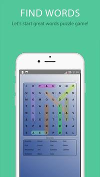 Find Words - Words Search Game poster