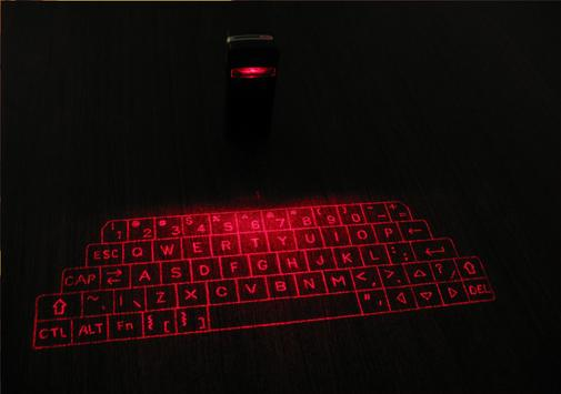 Laser Keyboard 3D Simulated screenshot 4