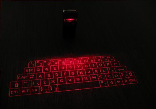 Laser Keyboard 3D Simulated screenshot 5