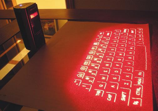 Laser Keyboard 3D Simulated screenshot 3