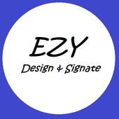 Ezy Design and Signate icon