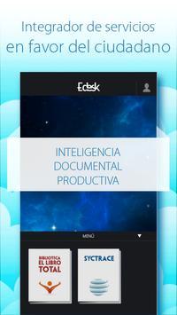 eDesk poster