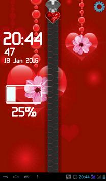 Valentine Screen Lock screenshot 2