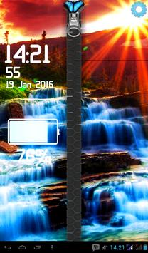 Waterfall Screen Lock poster