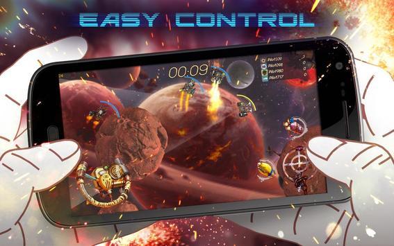 Galaxy Blockchain Battles: Real-time PvP Arcade poster