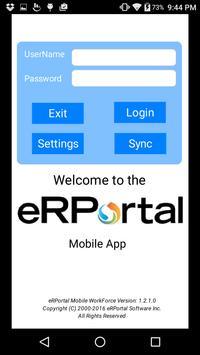 eRPortal screenshot 1
