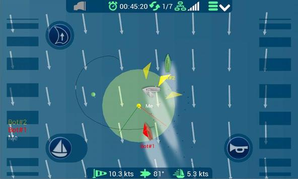 e-regatta online sailing game apk screenshot