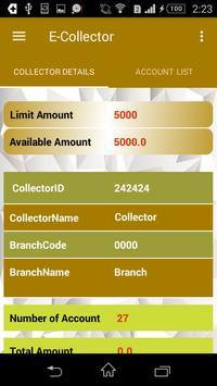 E-Collector screenshot 2