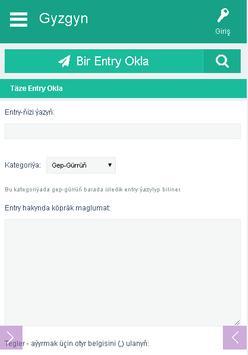 Gyzgyn screenshot 1