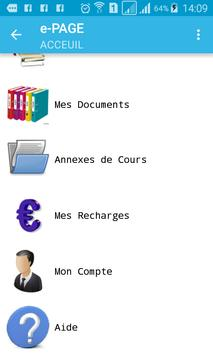 e-PAGE screenshot 1