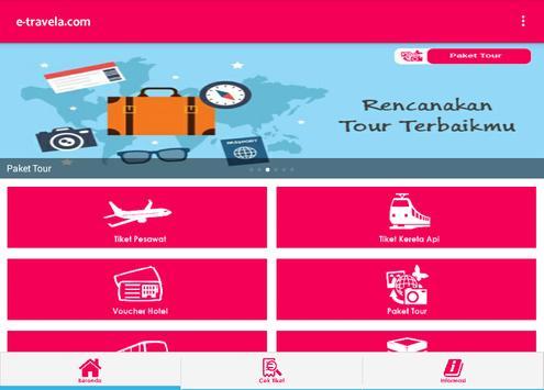 e-travela.com apk screenshot