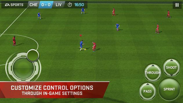 FIFA 15 Soccer Ultimate Team apk تصوير الشاشة