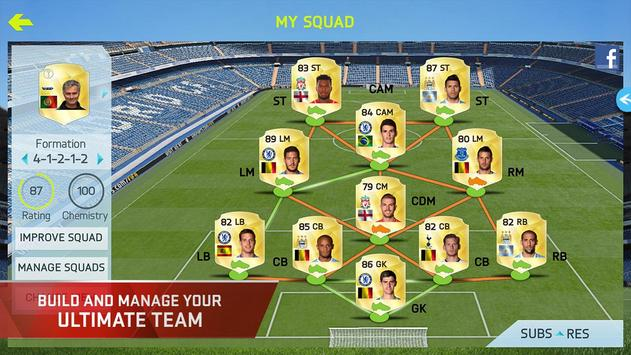 FIFA 15 Soccer Ultimate Team poster