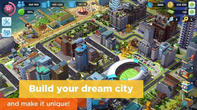 SimCity BuildIt постер