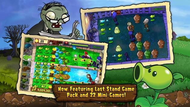 Plants vs. Zombies FREE captura de pantalla de la apk