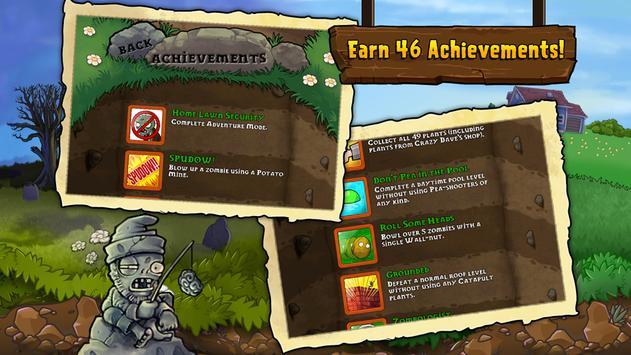 Plants vs. Zombies FREE captura de pantalla de la apk