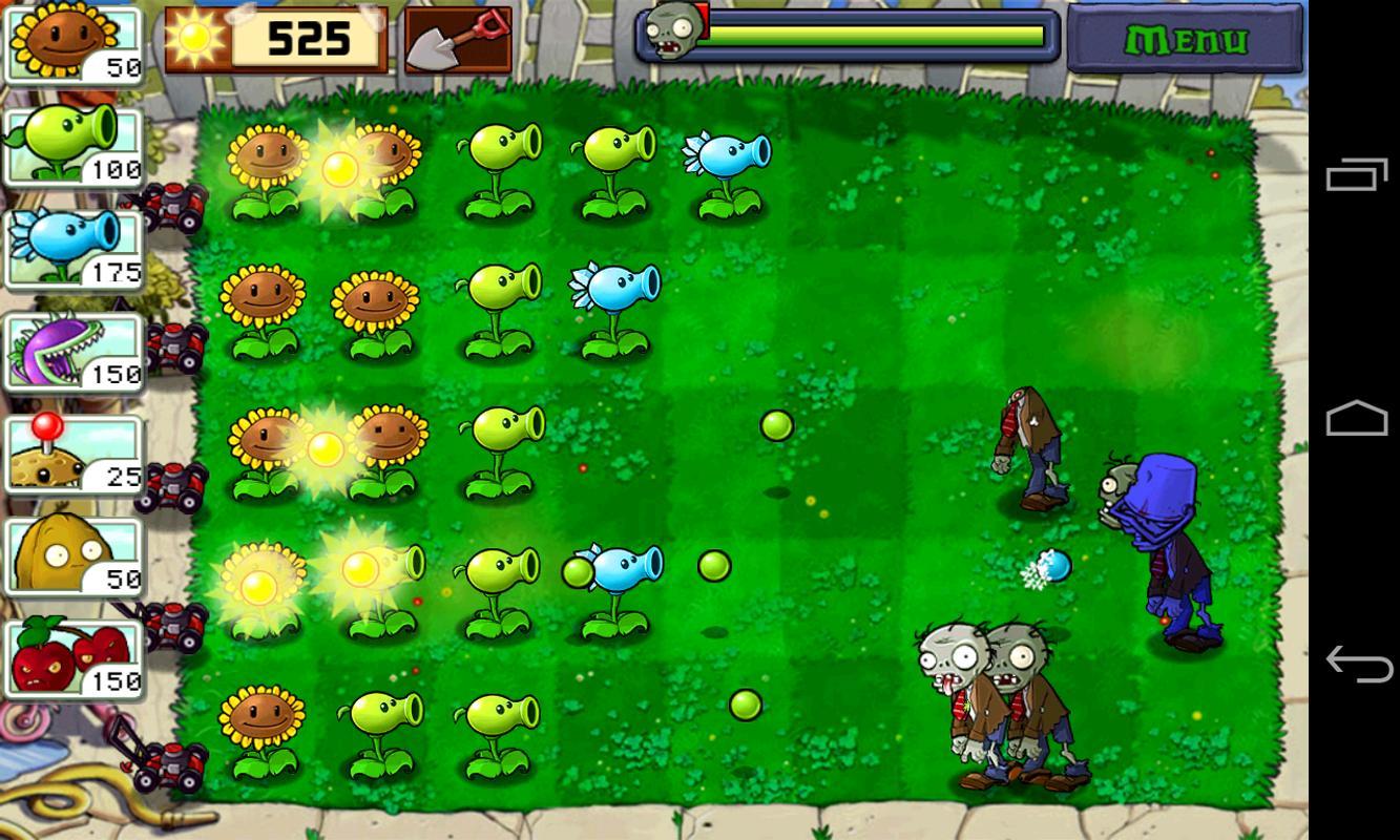 apk plants zombies