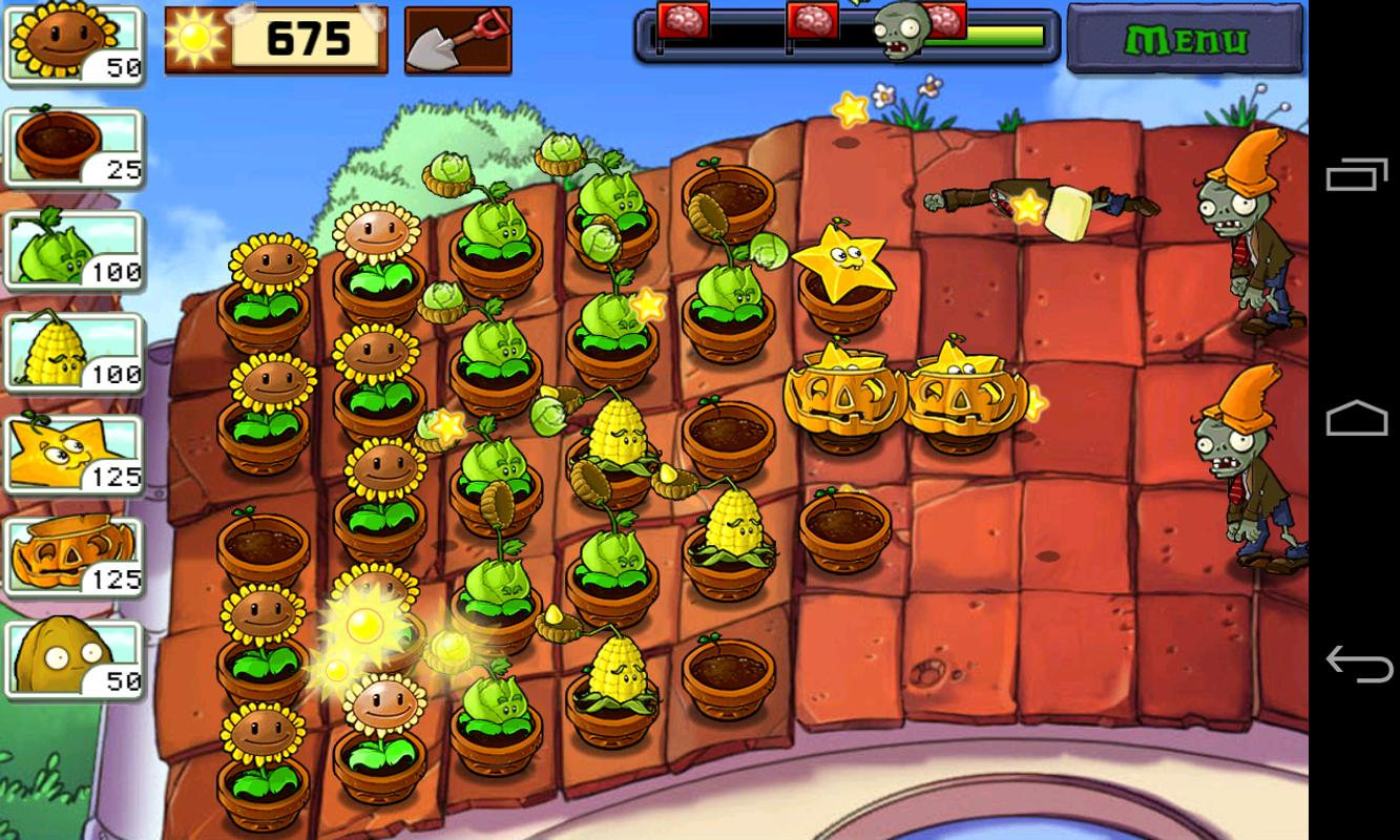 Plants vs zombies 1 game