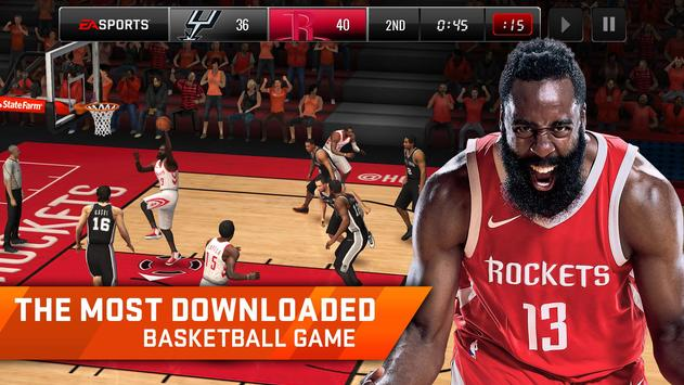 NBA LIVE Mobile Basketball poster