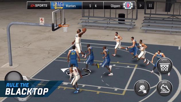 NBA LIVE Mobile Basketball poster
