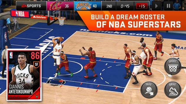 NBA LIVE Mobile Basketbal APK-screenhot