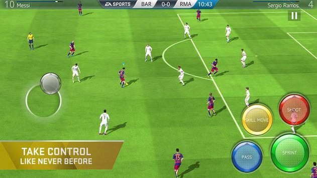 FIFA 16 Soccer تصوير الشاشة 1