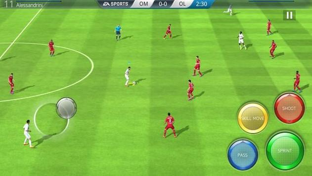 Capture d'écran de l'apk FIFA 16 Football