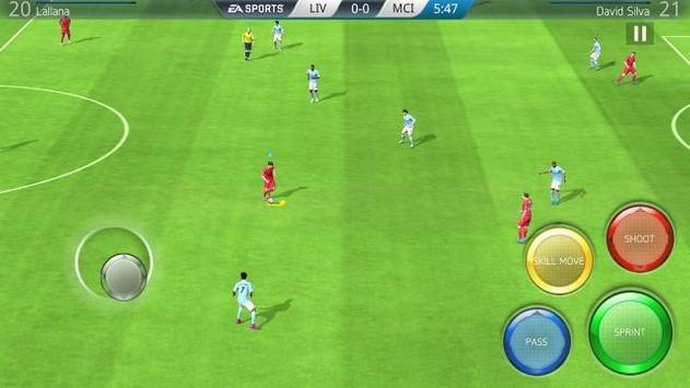 FIFA 16 Fútbol captura de pantalla de la apk
