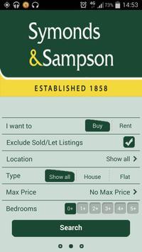Symonds & Sampson poster
