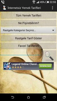 İnternetsiz Yemek Tarifleri Ekran Görüntüsü 12