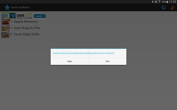 İnternetsiz Yemek Tarifleri Ekran Görüntüsü 3