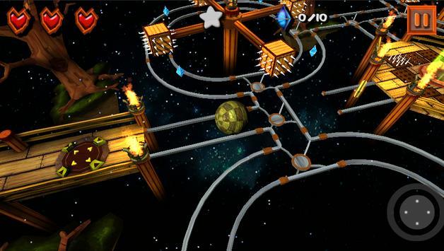 3D Ball Balance Free screenshot 2