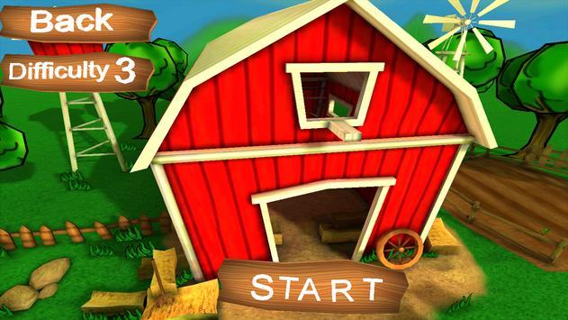 Farm animals puzzles for family apk screenshot