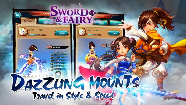 Sword and Fairy-3D CBT apk screenshot