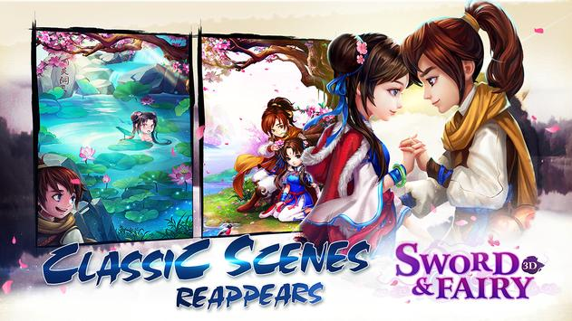 Sword and Fairy-3D CBT poster