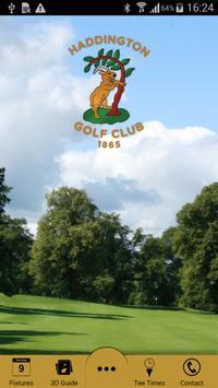 Haddington Golf poster