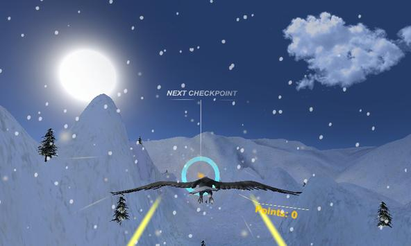 Eagle Fly VR poster