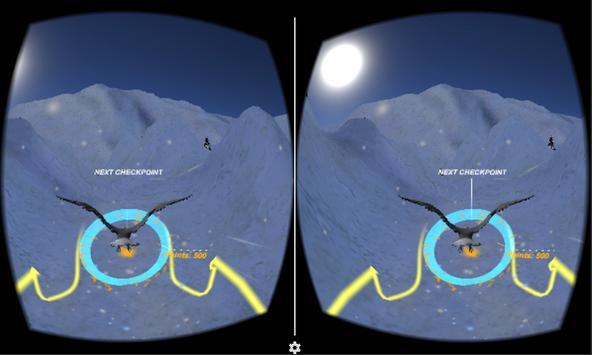 Eagle Fly VR apk screenshot