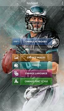 Philadelphia Eagles Keyboard apk screenshot
