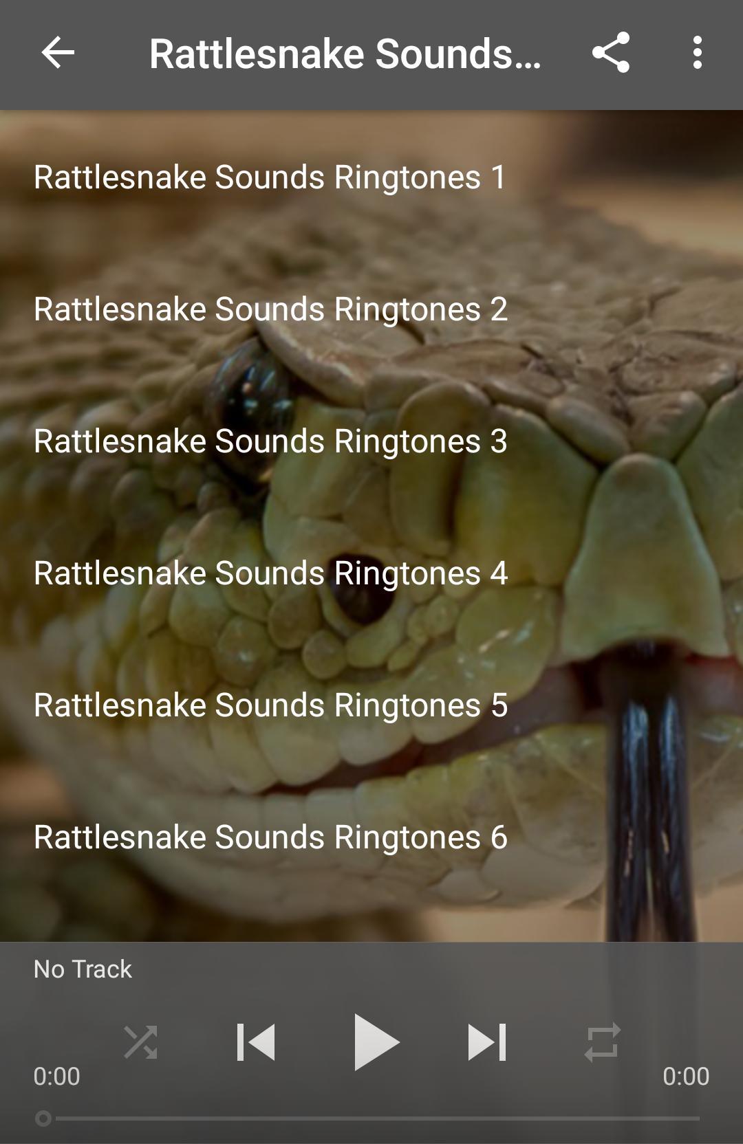 Rattlesnake Sounds Ringtones for Android - APK Download