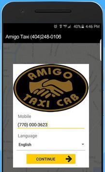 Amigo Taxi Atlanta poster