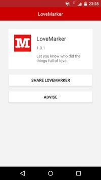 LoveMarker apk screenshot