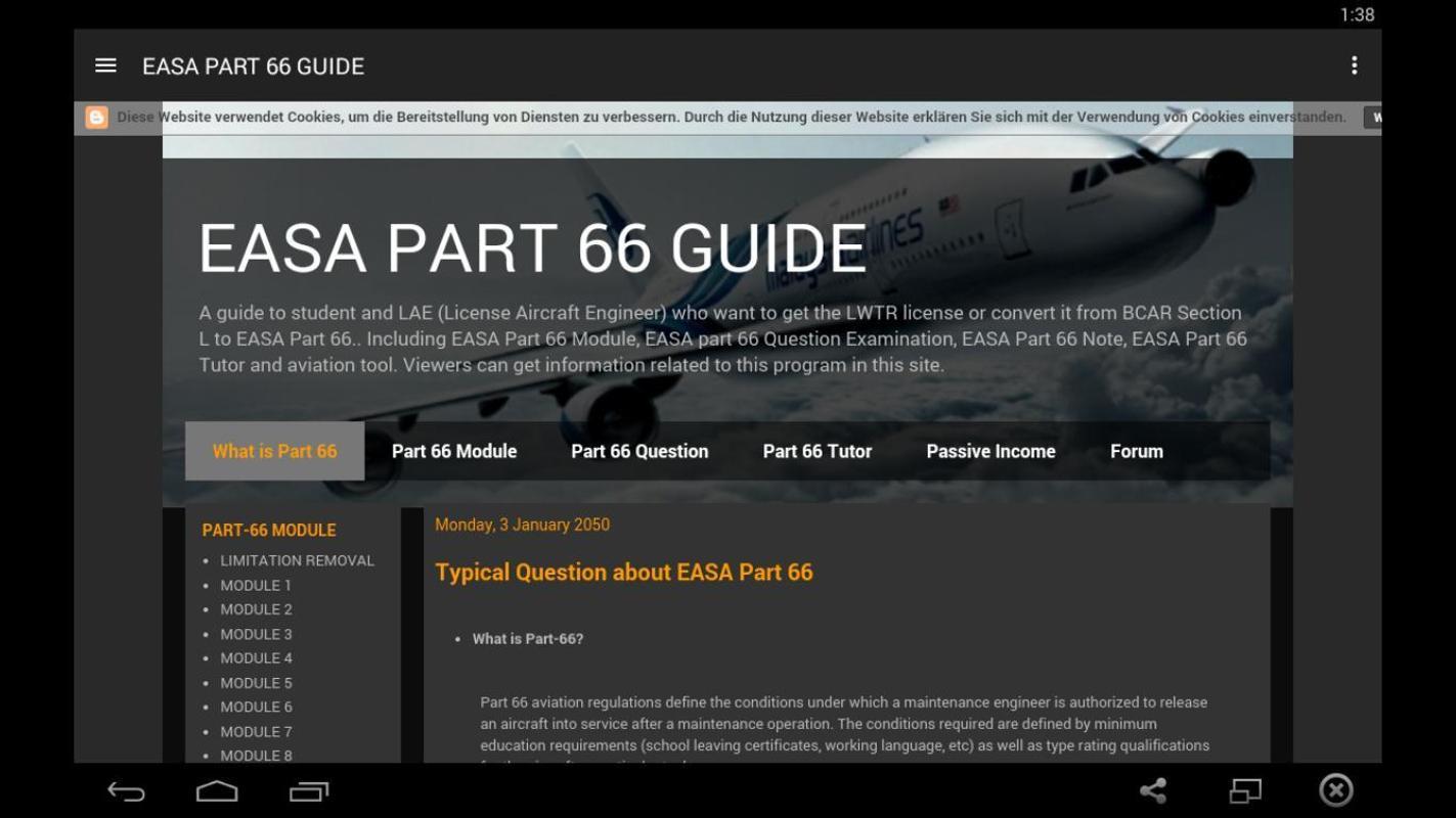 Easa modules download