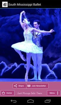 South Mississippi Ballet poster