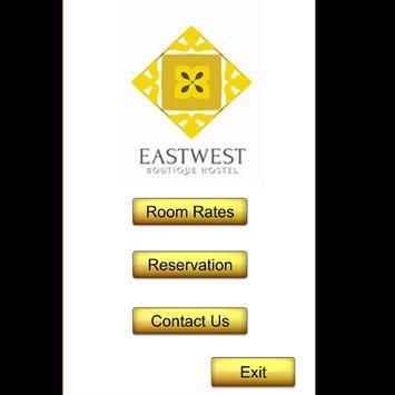 East West Hostel poster