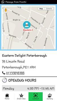 Eastern Delight Peterborough apk screenshot