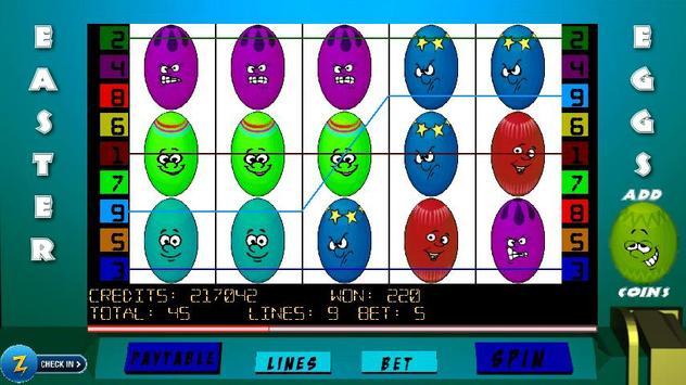Easter Eggs Slots apk screenshot