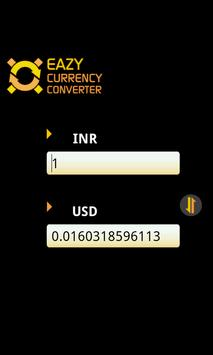 Eazy Currency Converter apk screenshot